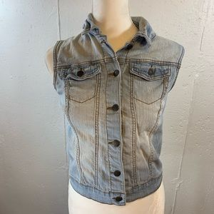 Xhileration Denim Vest